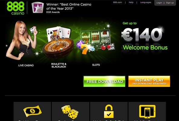 888casino screenshot
